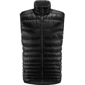 Haglöfs Essens Down Vest Herrer, true black/magnetite
